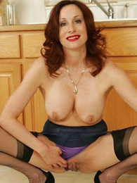 Undies pictures - Busty mature girdle milf