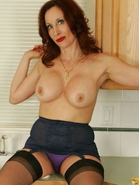 Panty pictures - Lord it over adult girdle milf