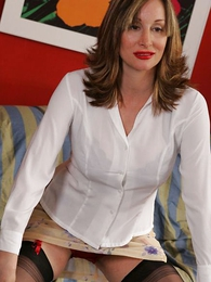 Panty pictures - Full-grown the man Abigail panty striptease
