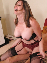Thongs pics - Cum drinking stocking slut