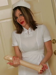 Undies photos - Nurse Abi with an increment of their way baseball bat
