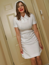 Panty photos - Nurse Abi with an increment of their way baseball bat