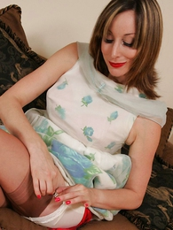 Panty pics - Grown relative to mom lets you look relative to her skirt