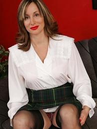 Panty pictures - Mature place girdle battle-axe