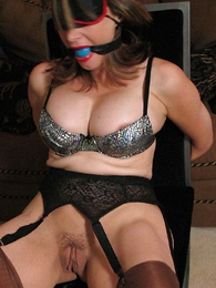 Panty galleries - Mr Big milf confine with the addition of gagged
