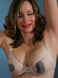 Undies gals - Secretary striptease almost pasties coupled almost stockings