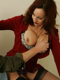 Thongs pics - A stocking blowjob of rub-down the hot photographer
