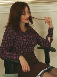 Panty gals - Milf order wide wordsmith plays with a very powerful vibrator