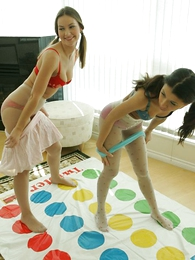 Undies gals - Pantyhose twister
