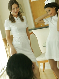 Panty pictures - Nurse travesty for Mr. Beckman