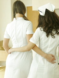 Thongs pics - Nurse travesty for Mr. Beckman