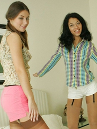 Panty gals - Panty fighting lesbians