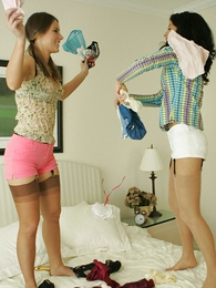 Panty pictures - Panty fighting lesbians
