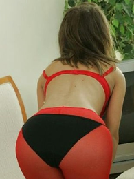 Thongs pics - Sexy cute girls ensemble for  you in their peace-pipe