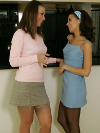 Panty gals - Girdle girls, Minnie together with Mary
