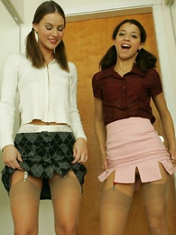 Panty pictures - Panty lesbians Minnie and Mary