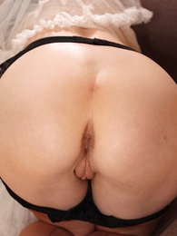 Panty pictures - Black panty pack tease