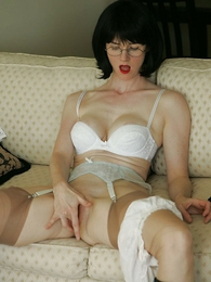 Panty pictures - White panty ill-treat