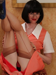 Panty photos - Girdle stocking satirical