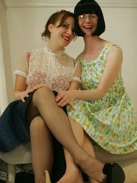 Panty pics - Fifties glamour girls gone bad