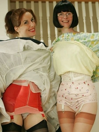 Panty photos - Fifties glamour girls gone bad