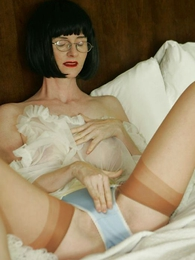 Undies galleries - Jerk off with Julia in her girdle and criny