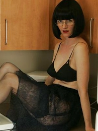 Panty photos - See through skirt, unscrupulous huff and puff and unscrupulous stockings