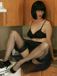Panty pictures - See through skirt, unscrupulous huff and puff and unscrupulous stockings