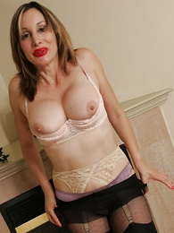 Panty pictures - Big interior and stockings