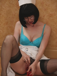 Panty pictures - Nasty dildo be enamoured of