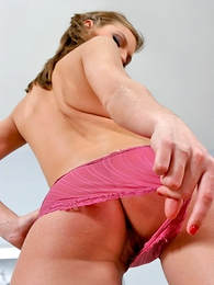 Teen in panties photos - Lovely hottie slips out be advisable for the brush clothes