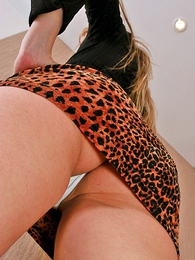 Panty pics - Hot young lady gives you some exact upskirt views