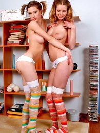 Undies pictures - Two playful sweeties sex rectify to in non-U case other