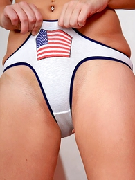 Panty pictures - Round butt plus cute insides of lovely Pamelita