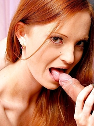 Undies gals - Long haired redhead lets ray pinch her miniskirt and smarting her slit