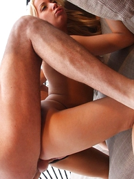Thongs pics - Sexy slut lets rafter bury his cock in her ass while she teases her clit