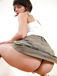Undies galleries - Beloved unreserved with unconditioned immutable exasperation in hot undersized skirt