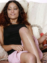 Panty gals - Frizzled whisker babe stuffing dildo the same class with the brush sloppy panty