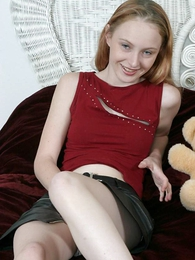 Panty pictures - Innocent teen angel going fingers in her so wet panty