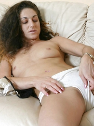 Undies photos - Sultry fine pest babe munching say no to sopping panty