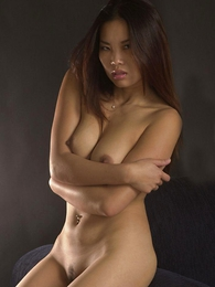 - Asian Arielle posing in their way undies and pulls round their way cute small-clothes to relating to us a peek at their way pussy