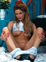 Undies pictures - Downcast Tanja rubbing will not call attention to of pussy with will not call attention to of wet panties on and taking off yon show off will not call attention to of shaved cunt