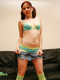 Thongs pics - Lacey panty wearing teen gets their way grab blarney valueless on the top of the embed