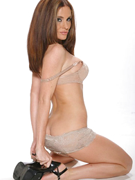 Teen in panties pics - Sting haired brown shakes the brush swot less the brush sexy tan lacey panties