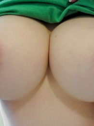 Girl in panties photo - St Pattys Day